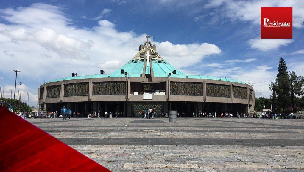 la Basílica de Guadalupe estará cerrada del 10 al 13 de diciembre.